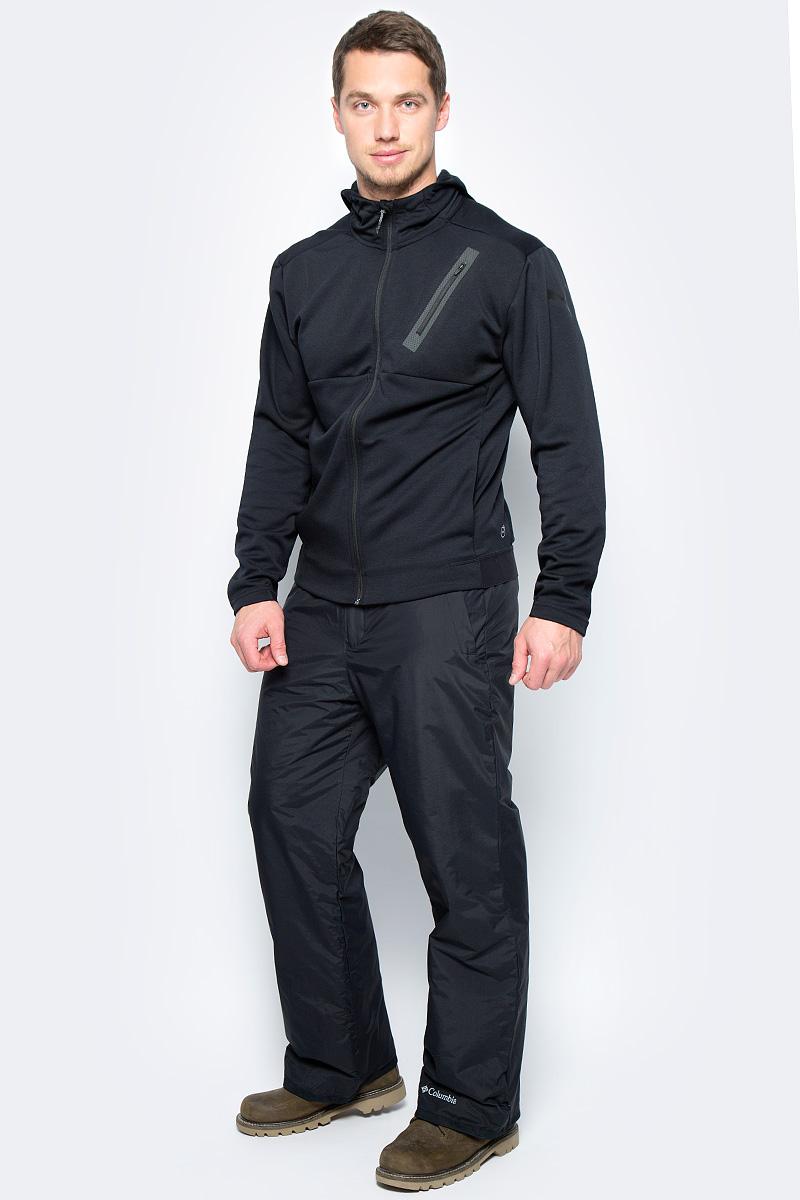 Брюки утепленные мужские Columbia Hannegan Pass M Ski Pants, цвет: черный. 1780711-010. Размер L (48/50)1780711-010Мужские брюки Pass M Ski Pants для зимнего спорта от Columbia выполнены из прочной ткани с водонепроницаемой, дышащей и ветрозащитной мембраной OMNI-TECH. Синтетический утеплитель обеспечивает оптимальную защиту от холода. Модель имеет ширинку на застежке-молнии, липучку и кнопки в поясе. На талии предусмотрены широкие шлевки для ремня. По бокам предусмотрены два кармана. Брюки имеют снегозащитные гетры с эластичными манжетами. Для защиты от истирания на штанинах предусмотрен прочный тканевый кант.