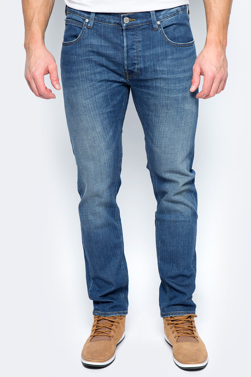 Купить Джинсы мужские Lee Daren, цвет: синий. L706LGKC. Размер 34-32 (50-32)