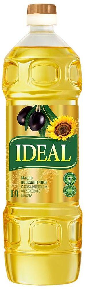Идеал масло микс подсолнечное + оливковое, 1 л7592