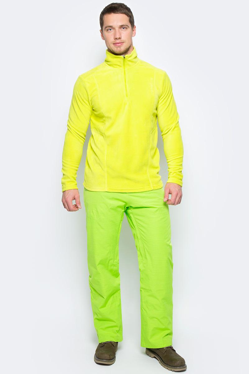 Толстовка муж Icepeak, цвет: светло-зеленый. 857777596IV_510. Размер S (48)857777596IV_510Мужская толстовка Icepeak подойдет как для активного отдыха, так и для повседневной носки. Модель выполнена из мягкого флиса. Теплоизоляционный дышащий и греющий материал прекрасно подходит для принципа многослойности в одежде. Он легкий и быстро сохнет. Специальная обработка Antipilling уменьшает закатывание волокон в комочки на поверхности изделия, сохраняя первоначальный внешний вид. Мужская толстовка Icepeak прямого силуэта с втачным кроем рукавов. Воротник-стойка в спортивном стиле. Застежка-молния до середины груди для комфортного переодевания.