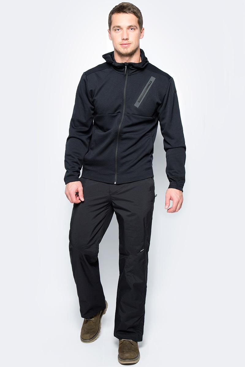 Брюки утепленные мужские ONeill Pm Akdov Pants, цвет: черный. 7P3612-9010. Размер XXL (54/56)7P3612-9010Утепленные брюки от ONeill с наполнителем выполнены из высококачественного плотного материала. Модель в поясе застегивается на кнопки и имеет ширинку на молнии. По бокам модель дополнена втачными карманами на молниях, сзади – прорезным карманом с клапаном.