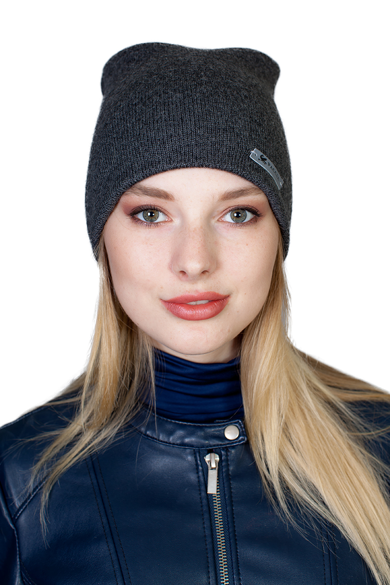 Шапка женская Paccia, цвет: серый. NR-21701-7. Размер 55/58 шапки mialt шапка
