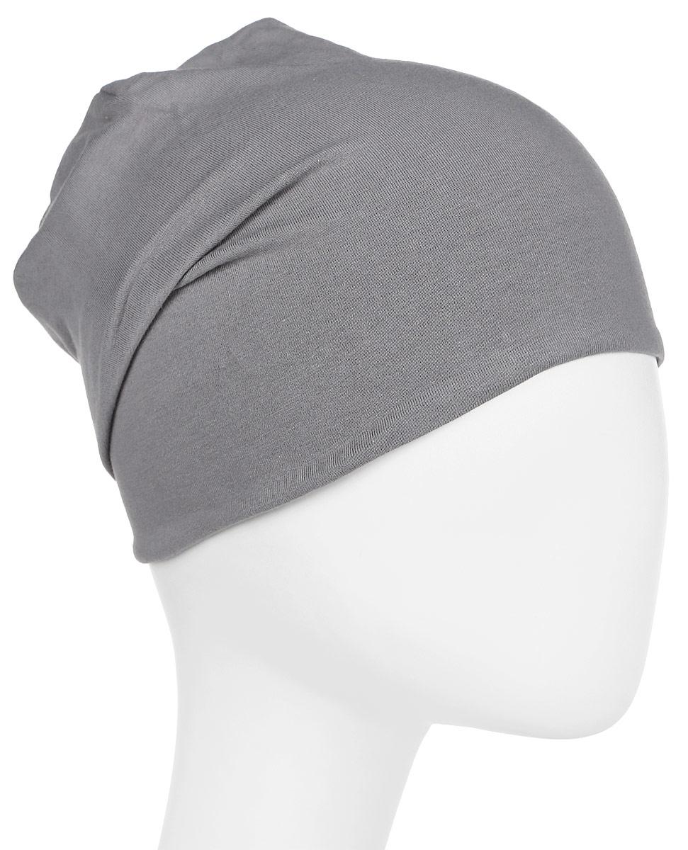 Шапка New Era Jersey Slouch, цвет: серый. 11448349-GRA. Размер универсальный11448349-GRAУдлинённая двухслойная шапка из трикотажа джерси. Логотип New Era размещен сбоку.