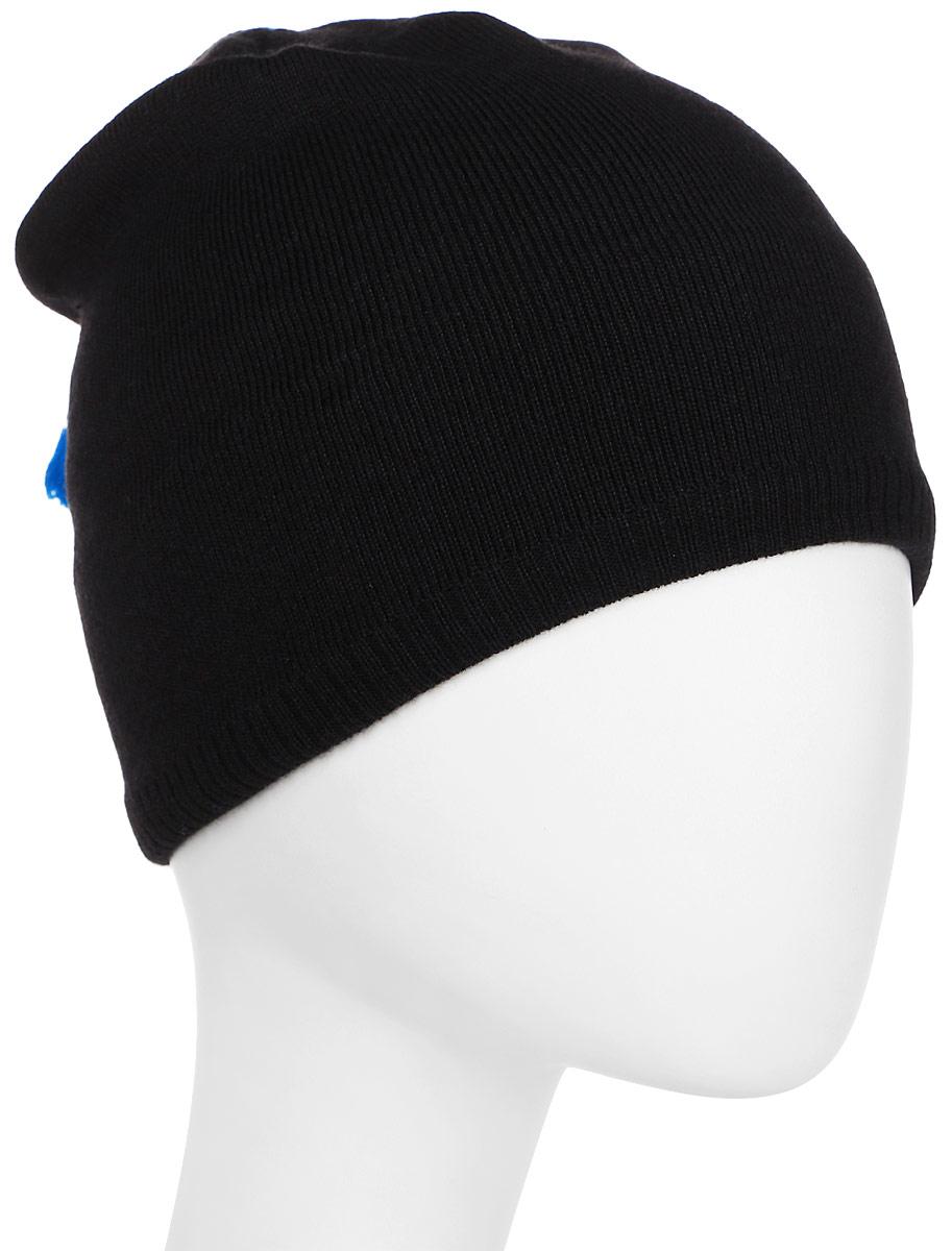 Шапка Salomon Escape Beanie, цвет: черный. L39494000. Размер универсальныйL39494000Уютная и функциональная шапка Escape Beanie содержит 50% шерсти для дополнительного утепления. Вшитая лента, впитывающая пот, сохранит кожу в сухости даже при интенсивном движении. Благодаря современной форме и расцветке эта удобная шапка смотрится довольно забавно.