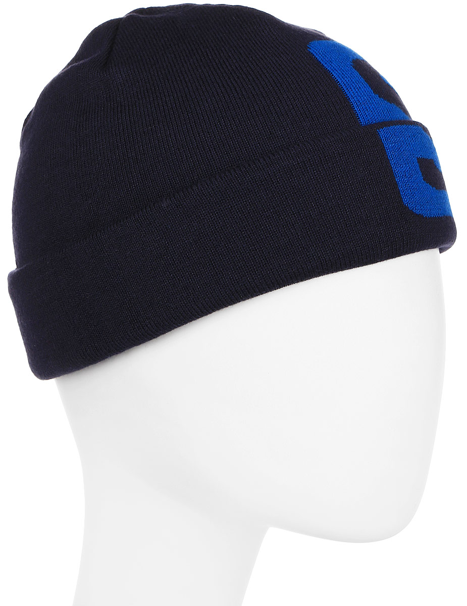 Шапка Salomon Big Fourax Beanie, цвет: синий. L39508900. Размер универсальный point break pq 4c wd high quality elastic rod cork handle portable rod strong sensitive sea rod fishing gear fast transport