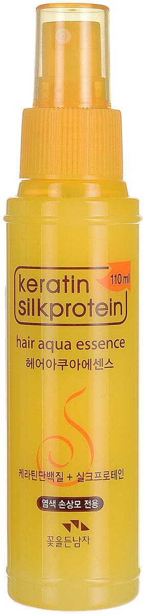Flor de Man Укрепляющая эссенция с протеинами шелка МФ Кератин, 110 млHS-81627384Защитная эссенция помогает восстановить поврежденные волосы, возвращая им здоровье и красоту. Керамиды заряжают волосы живительной влагой, возвращая им упругость и силу. А протеины шелка возвращают им мягкость и блеск.