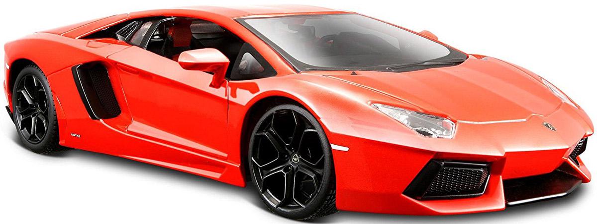 Maisto Модель автомобиля Lamborghini Aventador LP 700-4 цвет оранжевый машинки pit stop машинка lamborghini lp 700 красная 1 43 ps 0616410 r
