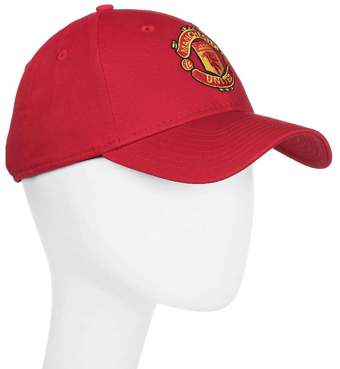 Бейсболка New Era Manutd, цвет: красный. 11213219-SCA. Размер универсальный11213219-SCAРегулируемая бейсболка модели 9Forty c логотипом футбольной команды Manchester United и логотипом New Era.
