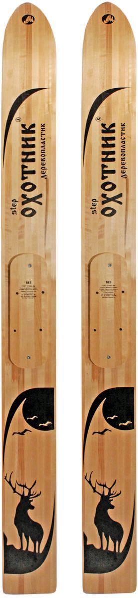 Лыжи охотничьи Маяк Охотник, дерево-пластиковые, 185 х 15 см беговые лыжи
