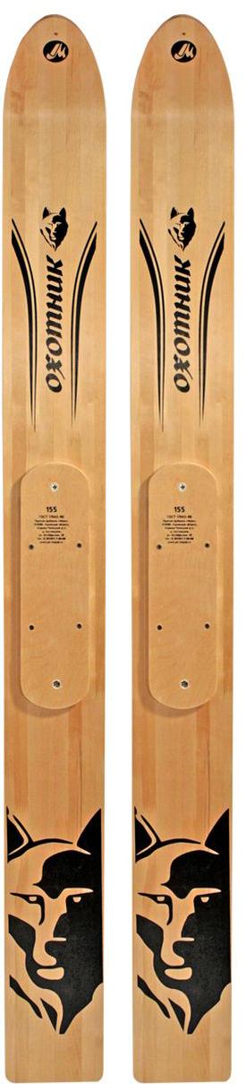 Лыжи охотничьи Маяк Охотник, деревянные, 185 х 15 см