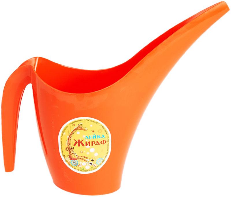 """Лейка Libra Plast """"Жираф"""", изготовленная из яркого цветного полипропилена, оснащена удобной ручкой.   Оригинальный дизайн и красочное исполнение создадут хорошее настроение.Такая лейка подойдет как для декора в саду так и для полива  цветов дома."""