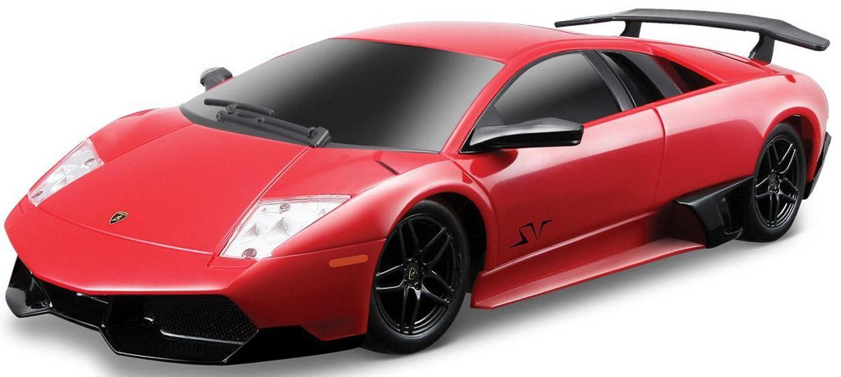 Maisto Радиоуправляемая модель Lamborghini Murcielago LP670-4 SV цвет красный