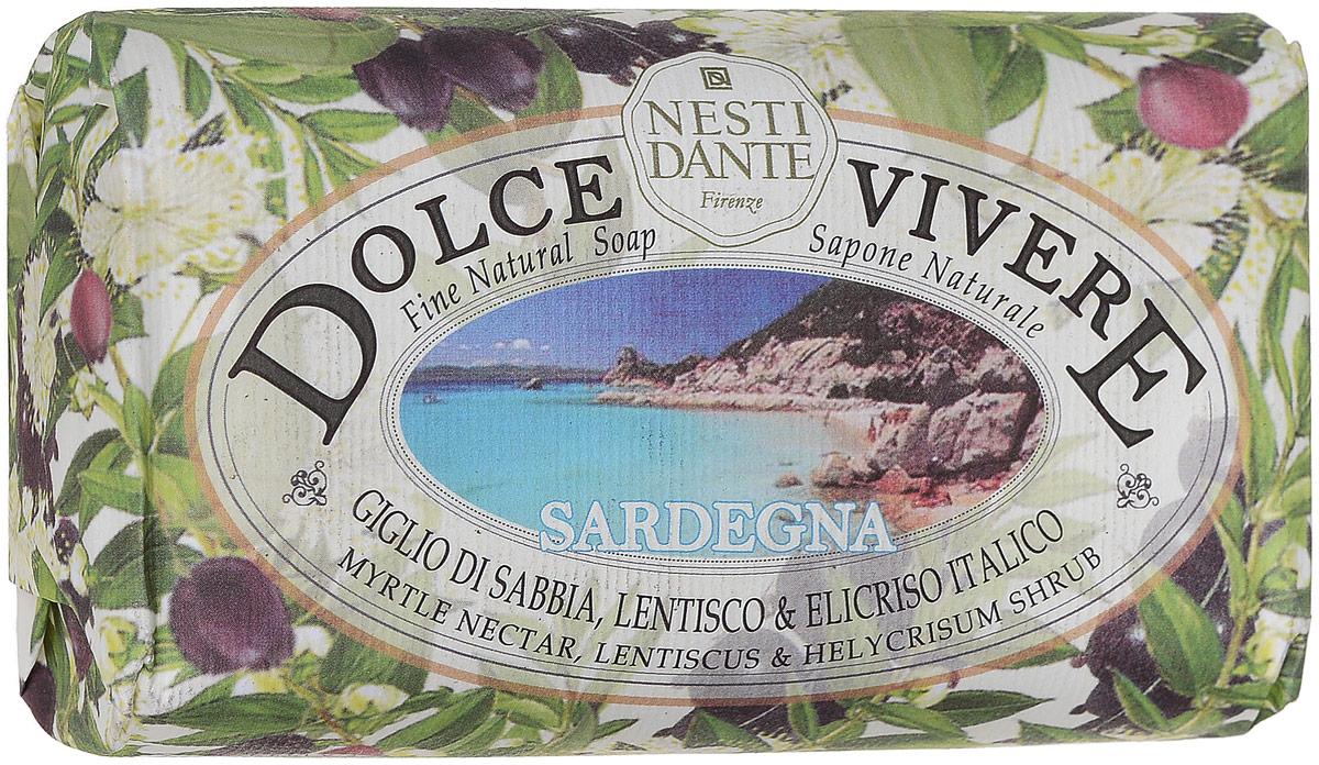 Nesti Dante Мыло Dolce Vivere. Сардиния , 250 г nesti dante мыло amorino soap мечта о море 150 г