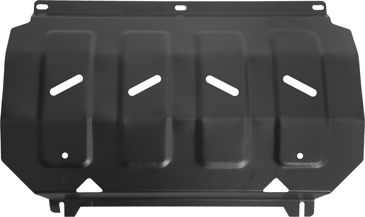 Защита радиатора Автоброня Mitsubishi L200 2006-2015/Mitsubishi Pajero Sport 2008-2016, сталь 2 мм защита картера автоброня 111 04006 1 mitsubishi pajero sport 2008 mitsubishi l200 2006 2015