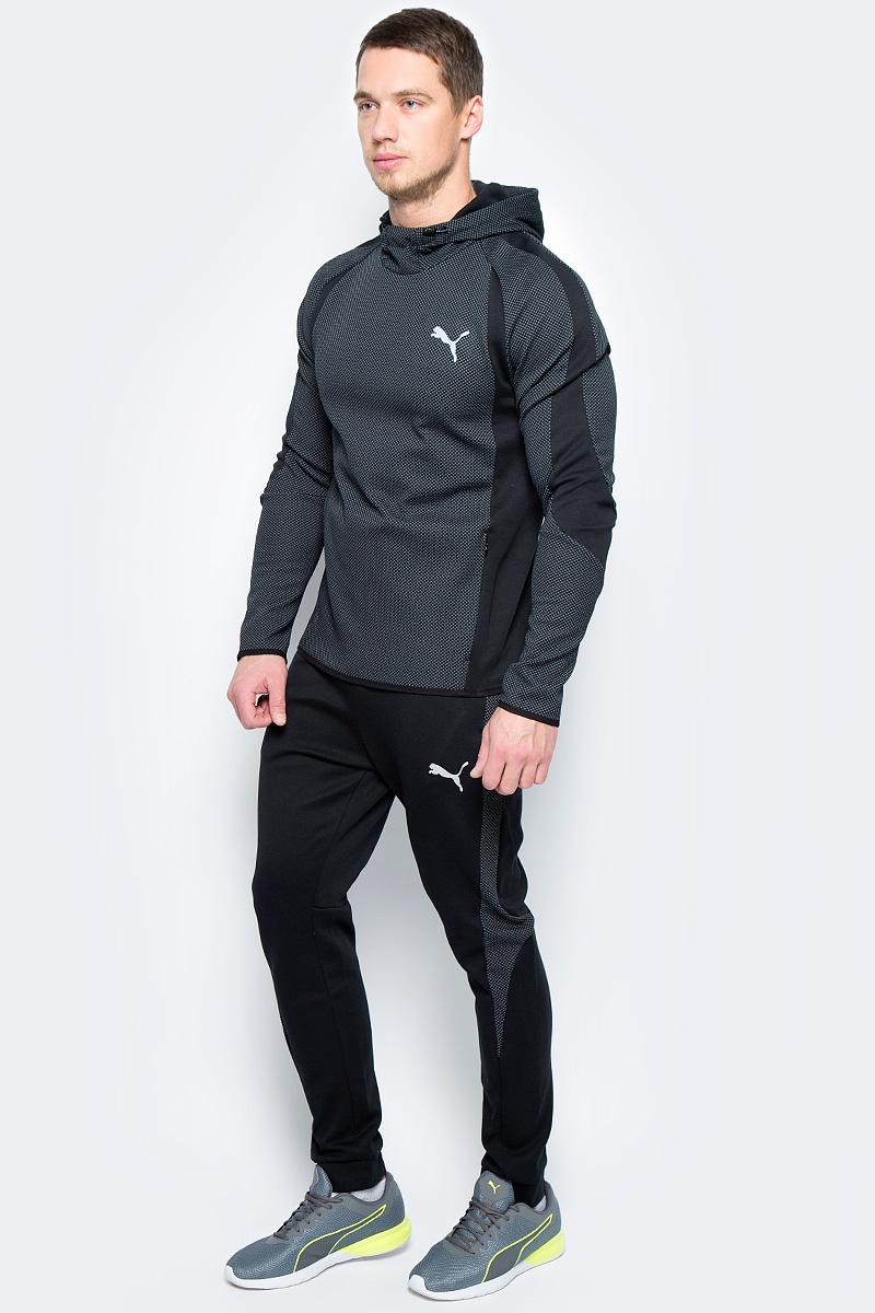 Брюки спортивные мужские Puma Bonded Tech Trackster, цвет: черный. 51564801. Размер M (46/48)51564801Модель от Puma изготовлена с использованием высокофункциональной технологии DryCell, которая отводит влагу, поддерживает тело сухим и гарантирует комфорт во время активных тренировок и занятий спортом. Изделие декорировано логотипом DryCell, нанесенным методом термопечати на пояс, логотипом Puma, также нанесенным методом термопечати, а боковые швы отделаны тесьмой с перфорацией. Также символикой Puma снабжен эластичный материал, которым отделан пояс. В пояс продернут затягивающийся шнур для идеальной подгонки по фигуре. Имеется скрытый карман на молнии. Изделие имеет удобную стандартную посадку.