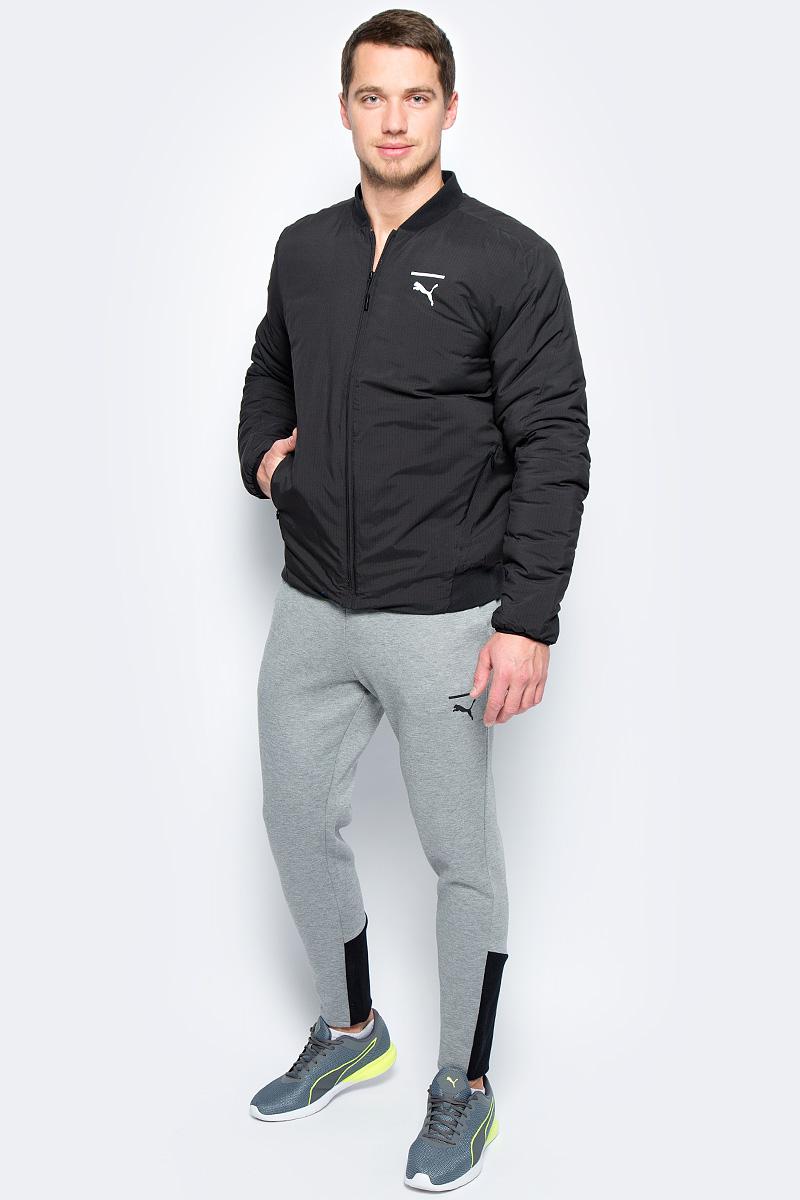 Куртка мужская Puma Evo Core Bomber, цвет: черный. 57334401. Размер XL (50/52)