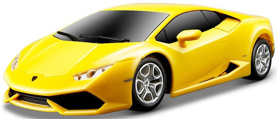 Maisto Радиоуправляемая модель Lamborghini Huracan LP 610-4 цвет желтый