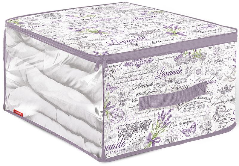 Кофр для хранения Valiant Lavande, 35 х 30 х 20 см коробки для хранения valiant кофр для хранения малый 35 30 20 см lavande шт