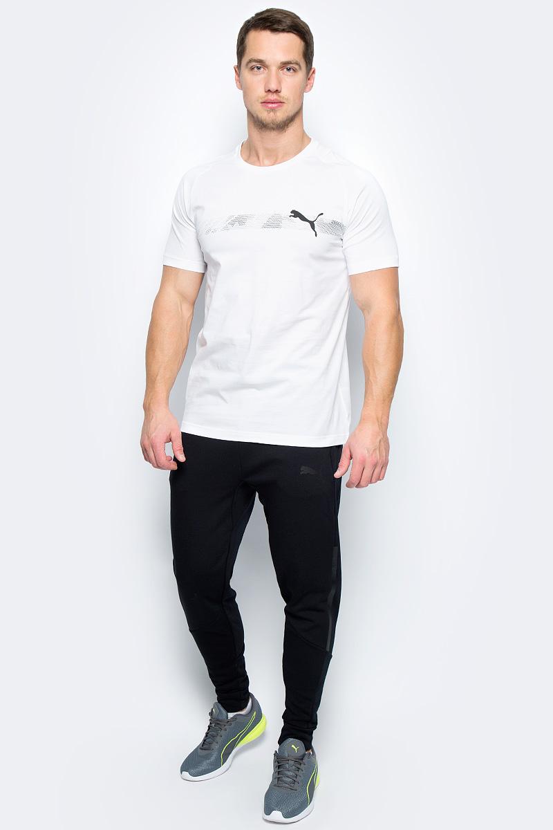 Футболка мужская Puma Active Hero Raglan Tee, цвет: белый. 59423902. Размер XL (50/52)