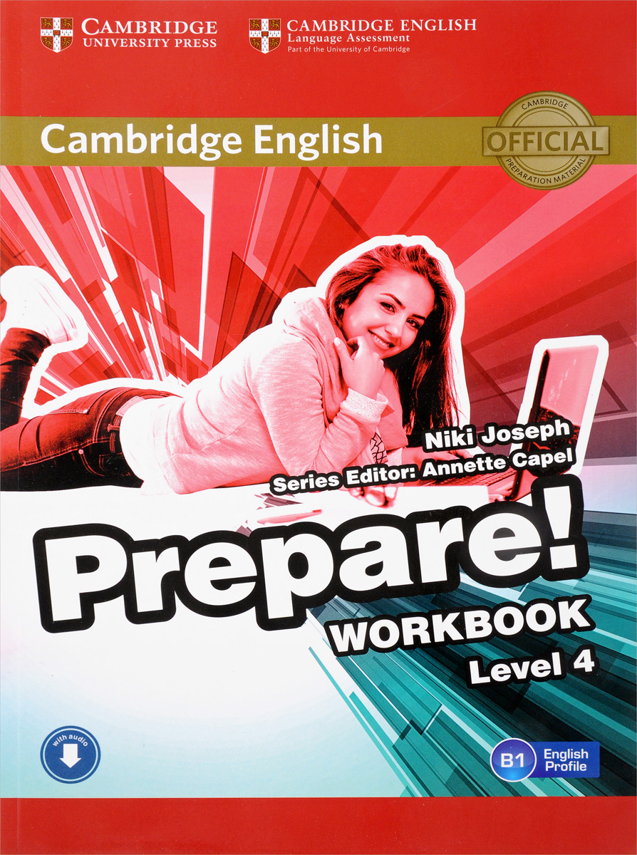 Cambridge English Prepare! Level 4: Workbook with Audio cambridge essential english dictionary second edition