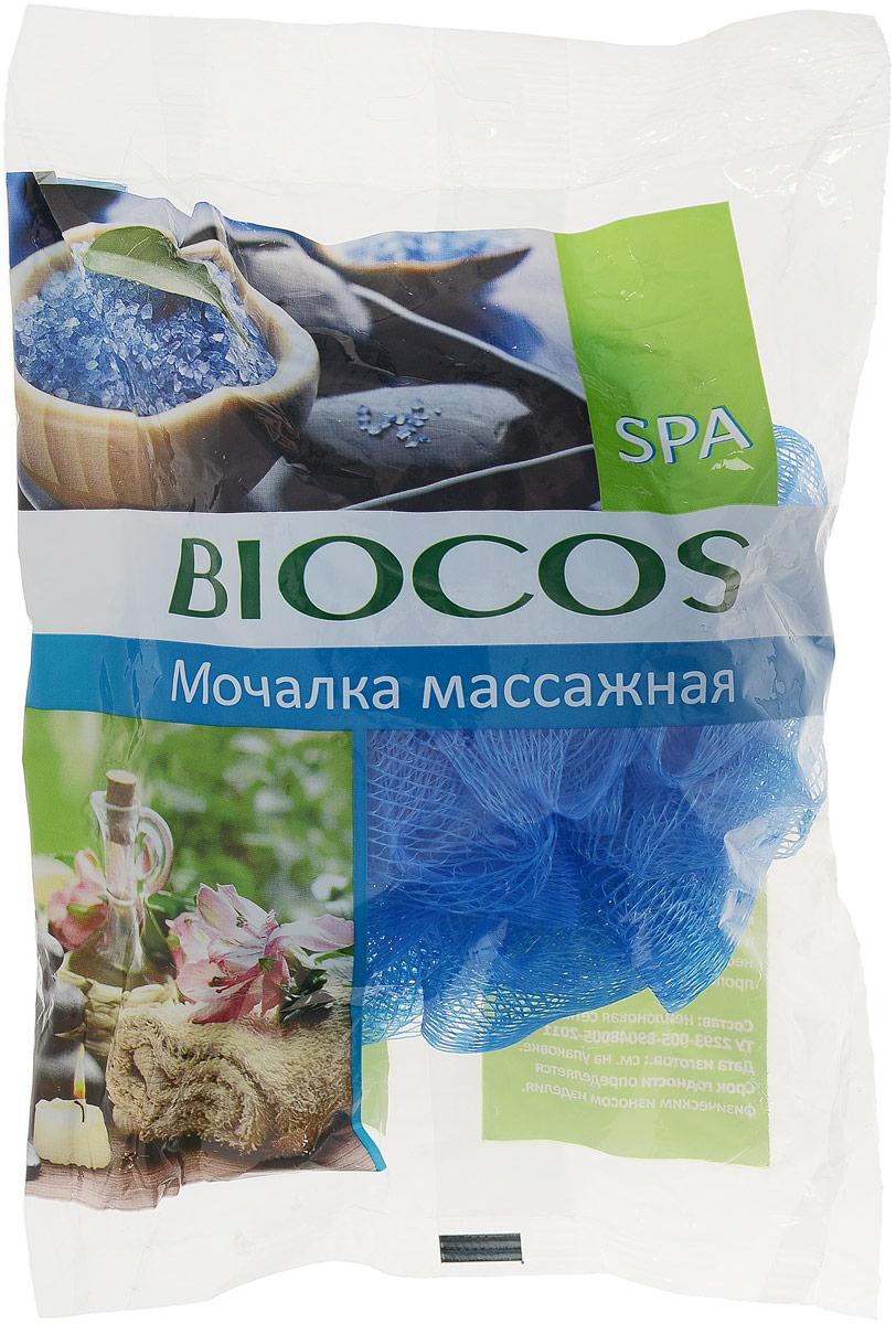 BioCos Мочалка банная Spa цвет: синий14498Идеально подходит для повышения тонуса и легкого пилинга вашей кожи. Улучшает кровообращение. Используется с любыми видами моющих средств для тела. Рекомендации по применению: перед первым применением мочалку рекомендуется промыть в воде. После использования ее необходимо тщательно прополоскать и просушить.