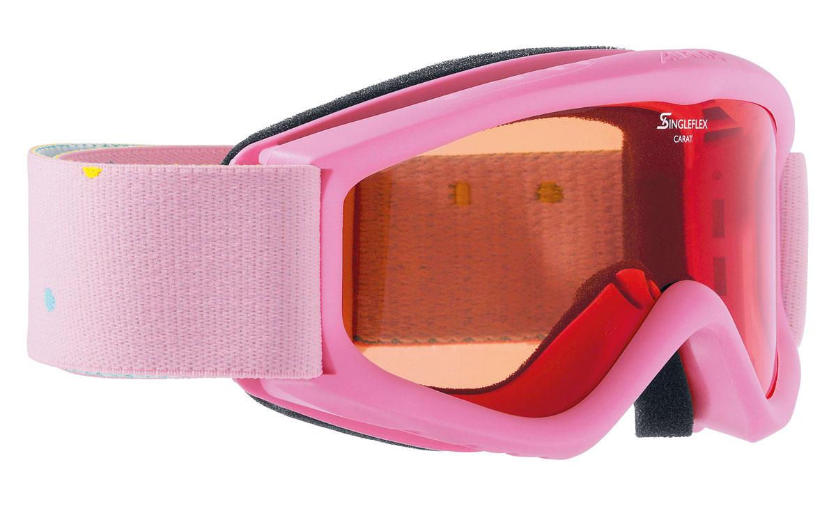 Очки горнолыжные Alpina CARAT SH rose/white (Polka) (б/р)A7019456Детская горнолыжная маска-однослойная линза высокой контрастности-100% защита от УФ А-В-С до 400 нм-Антифог покрытие снижает риск запотевания маски-По контуру оправы расположены вентиляционные порты улучшающие циркуляцию воздуха и снижающие риск запотевания маски -Категория защиты линз: 1 категория