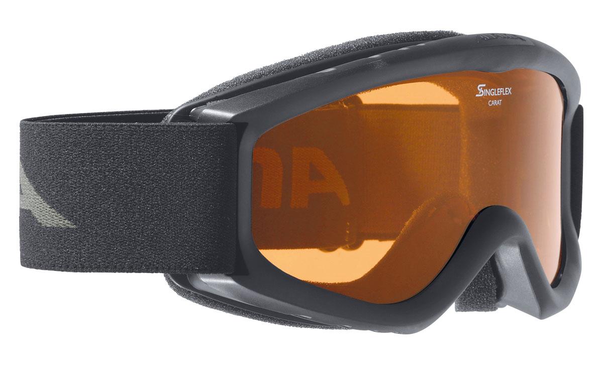 Очки горнолыжные Alpina CARAT DH black/white (black nurbs) (б/р)A7026133Детская горнолыжная маска-двойные контрастные линзы -100% защита от УФ А-В-С до 400 нм-Антифог покрытие снижает риск запотевания маски-По контуру оправы расположены вентиляционные порты улучшающие циркуляцию воздуха и снижающие риск запотевания маски -Категория защиты линз: 2 категория, для использования в условиях переменной облачности и пасмурной погоды без осадков.