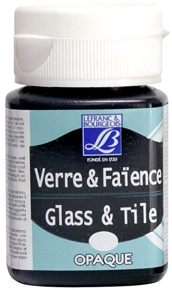 Краска по стеклу и керамике Lefranc & Bourgeois Glass&Tile, непрозрачная, цвет: насыщенный черный (268), 50 млLF210941Акриловая обжигаемая краска на водной основе Lefranc & Bourgeois Glass&Tile применяется для декорирования стеклянной посуды, различных видах фарфора и керамики. После высыхания внешне ничем не отличаются от витражных сольвентовых красок. Можно разбавлять водой.