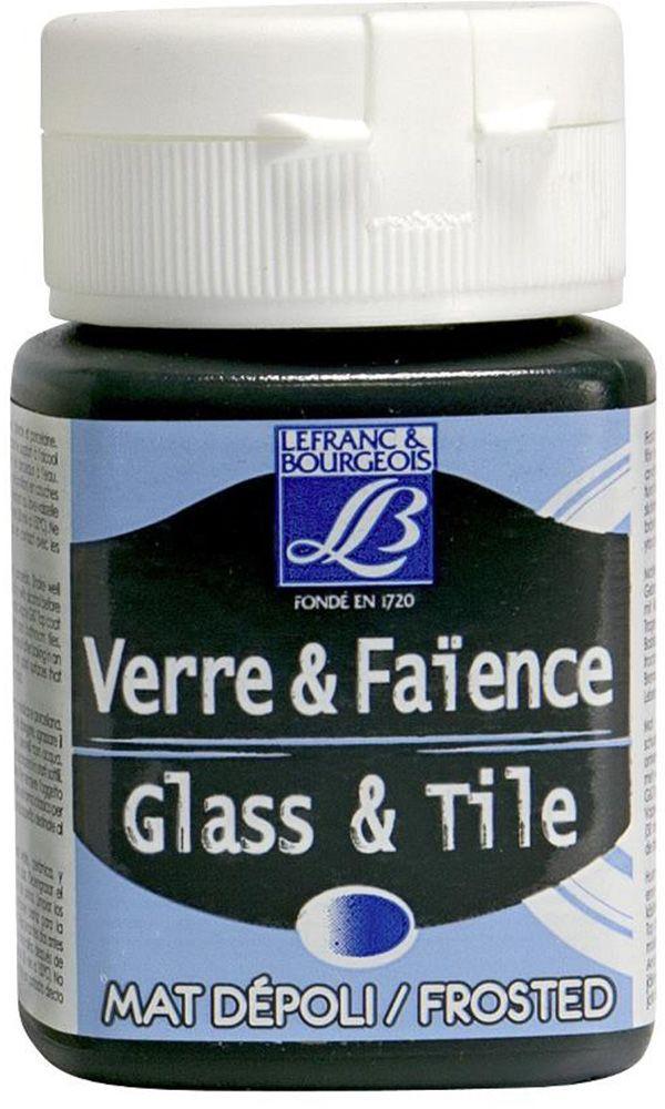 Краска по стеклу и керамике Lefranc & Bourgeois Glass&Tile, морозный эффект, цвет: зеленый изумруд (529), 50 млLF806786Акриловая обжигаемая краска на водной основе Lefranc & Bourgeois Glass&Tile применяется для декорирования стеклянной посуды, различных видах фарфора и керамики. После высыхания внешне ничем не отличаются от витражных сольвентовых красок. Можно разбавлять водой.