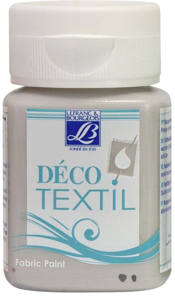 Краска по ткани Lefranc & Bourgeois Deco Textil, цвет: мастика (917), 50 мл05042310Краски Deco Textil подходят для росписи различных тканей: хлопка, шерсти, льна, синтетических тканей, фетра, велюра. Краски по ткани на водной основе наносятся легко и безупречно ложатся на ткань. Благодаря своей структуре усиливают мягкость тканевой основы и подходят для росписи как светлых, так и темных тканей (для темных основ рекомендуется наносить краску в несколько слоев). Краски для росписи ткани отлично смешиваются между собой. После термофиксации утюгом краски по ткани не боятся машинной стирки, сохраняя яркость и контрастность цветов.