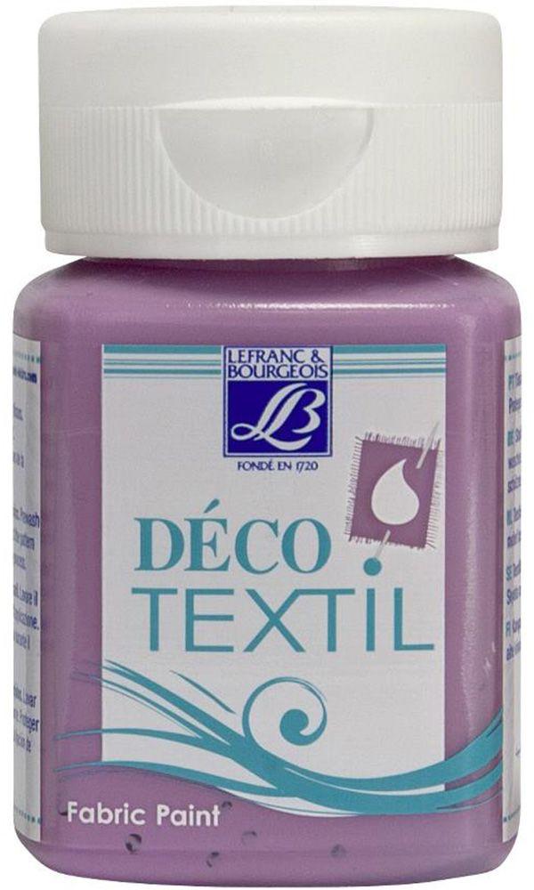 Краска по ткани Lefranc & Bourgeois Deco Textil, цвет: красное дерево (452), 50 млLF211463Краски Deco Textil подходят для росписи различных тканей: хлопка, шерсти, льна, синтетических тканей, фетра, велюра. Краски по ткани на водной основе наносятся легко и безупречно ложатся на ткань. Благодаря своей структуре усиливают мягкость тканевой основы и подходят для росписи как светлых, так и темных тканей (для темных основ рекомендуется наносить краску в несколько слоев). Краски для росписи ткани отлично смешиваются между собой. После термофиксации утюгом краски по ткани не боятся машинной стирки, сохраняя яркость и контрастность цветов.
