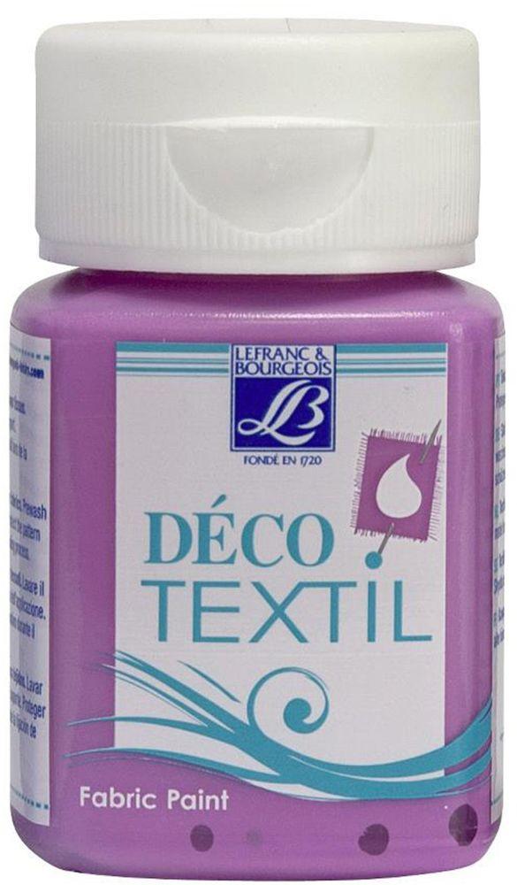 Краска по ткани Lefranc & Bourgeois Deco Textil, цвет: розовый лепесток (455), 50 млLF211638Краски по ткани Deco Textil подходят для росписи различных тканей: хлопка, шерсти, льна, синтетических тканей, фетра, велюра. Краски по ткани на водной основе, наносятся легко и безупречно ложатся на ткань. Благодаря своей структуре усиливают мягкость тканевой основы и подходят для росписи как светлых, так и темных тканей (для темных основ рекомендуется наносить краску в несколько слоев). Краски для росписи ткани отлично смешиваются между собой. После термофиксации утюгом краски по ткани не боятся машинной стирки, сохраняя яркость и контрастность цветов.