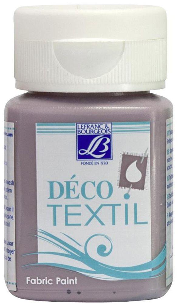 Краска по ткани Lefranc & Bourgeois Deco Textil, цвет: морской еж (885), 50 млLF174431Краски Deco Textil подходят для росписи различных тканей: хлопка, шерсти, льна, синтетических тканей, фетра, велюра. Краски по ткани на водной основе наносятся легко и безупречно ложатся на ткань. Благодаря своей структуре усиливают мягкость тканевой основы и подходят для росписи как светлых, так и темных тканей (для темных основ рекомендуется наносить краску в несколько слоев). Краски для росписи ткани отлично смешиваются между собой. После термофиксации утюгом краски по ткани не боятся машинной стирки, сохраняя яркость и контрастность цветов.