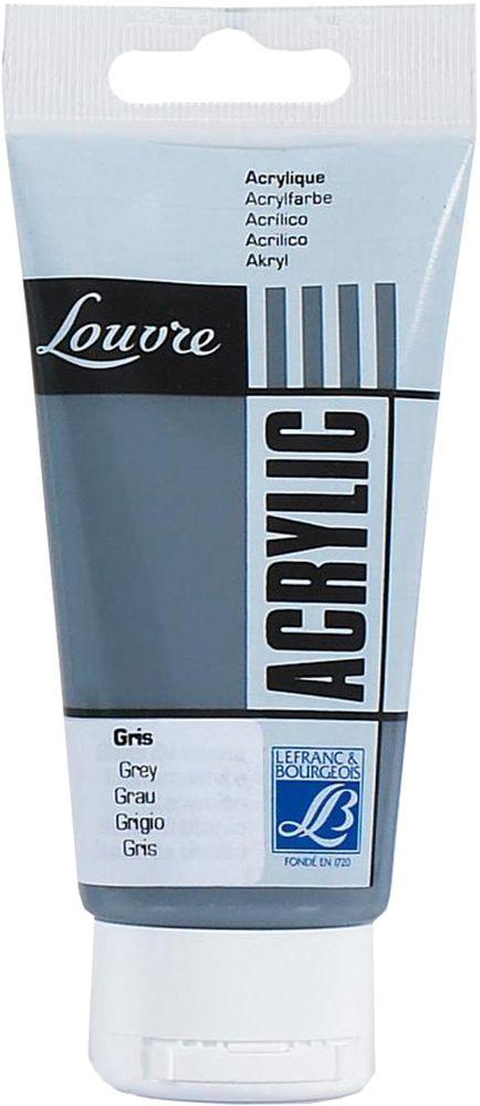 """Краска акриловая Lefranc & Bourgeois """"Louvre"""", цвет: серый (250), 80 мл"""