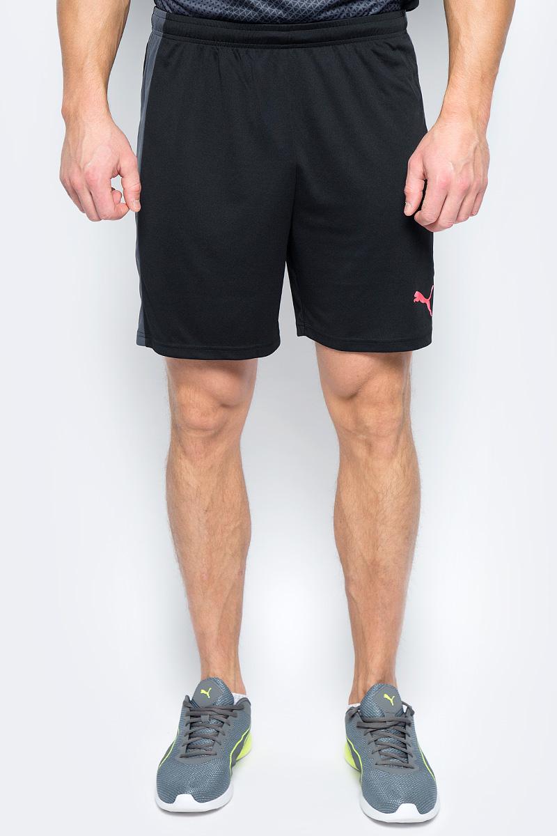 Шорты мужские Puma evoTRG Shorts, цвет: черный. 65534806. Размер M (46/48) игровая форма puma трусы футбольные puma esito shorts slip 70100102