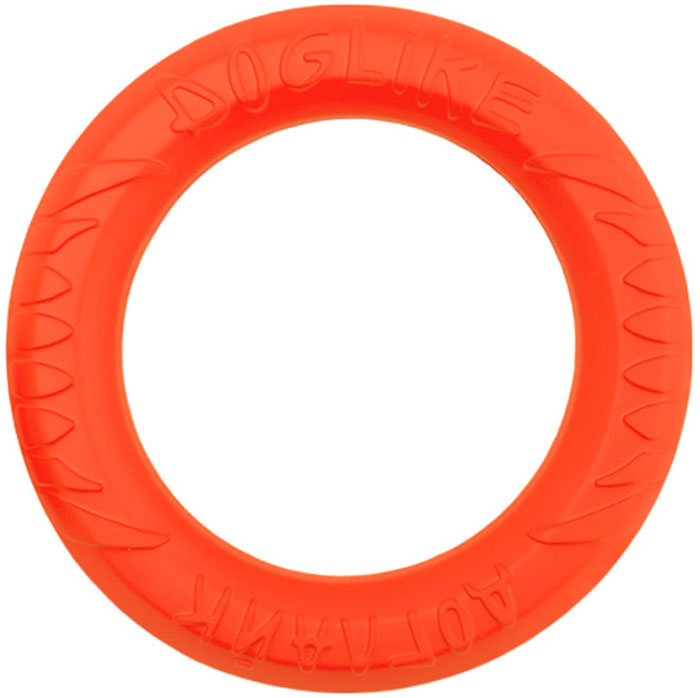 Снаряд Doglike, для дрессировки собак, большой, цвет: оранжевый бусы из хрусталя россыпи 3