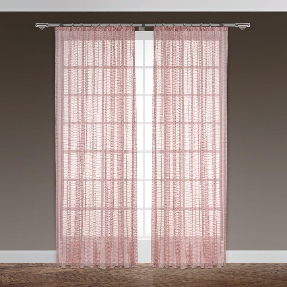 Тюль Daily by T Синай, цвет: розовый, на ленте, высота 280 см50.19.74.0433Тюль из коллекции Daily. Состав: 100% полиэстер. Комплектация: 1 тюль. Размер: 300х280. Цвет: розовый. Уход: необходимо стирать при температуре 40°С с использованием моющих средств для деликатных тканей. Сушить на специальной сушке или развесив на окне. Тюль из полиэстера гладить не обязательно, но если такое желание возникнет, следует выбрать деликатный режим работы утюга (не более 150°С) и воспользоваться подутюжильником. Не отбеливать.
