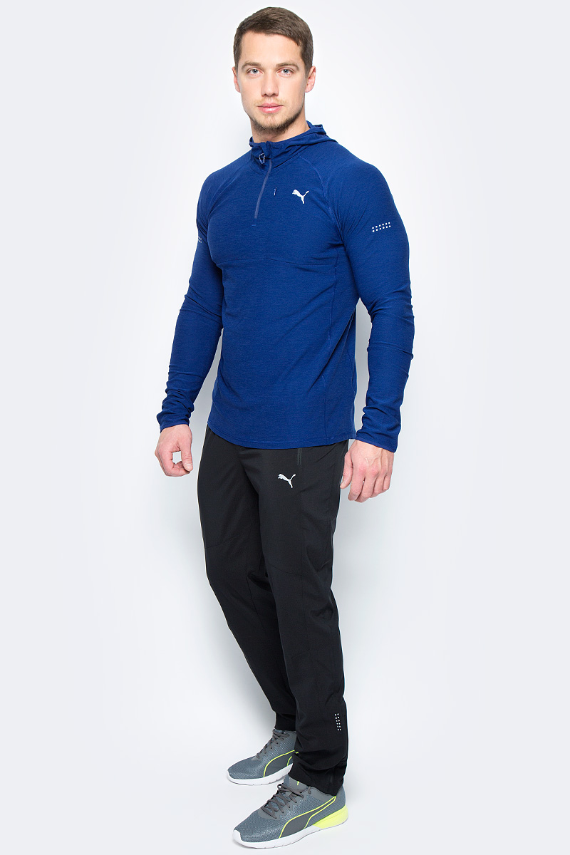 Брюки спортивные мужские Puma Tapered Woven Pant, цвет: черный. 51555801. Размер XXL (52/54) брюки puma брюки bvb tr pant tapered w po