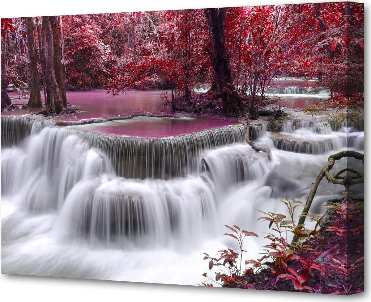 Картина холст Milarte, 50 х 75 см. G-3531HG-3531HКартина на холсте – это яркий и эффективный предмет украшения интерьера. Это достигается благодаря трем факторам. 1) Фактурной поверхности, синтетического полотна, подобранного по аналогии с натуральным холстом. 2) Технологии высококачественной печати изображения, превращающей картинку с экрана монитора, в профессиональную имитацию работы художника и мазков краски. 3) Красивые прорисованные картинки или эстетические фотографии. В итоге Вы получайте, готовую работу, которая не уступает по силе эмоций живописным картинам.