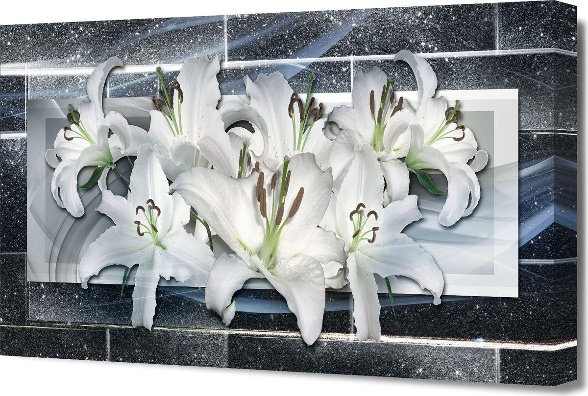 Картина холст Milarte, 50 х 100 см. G-5052HG-5052HКартина на холсте – это яркий и эффективный предмет украшения интерьера. Это достигается благодаря трем факторам. 1) Фактурной поверхности, синтетического полотна, подобранного по аналогии с натуральным холстом. 2) Технологии высококачественной печати изображения, превращающей картинку с экрана монитора, в профессиональную имитацию работы художника и мазков краски. 3) Красивые прорисованные картинки или эстетические фотографии. В итоге Вы получайте, готовую работу, которая не уступает по силе эмоций живописным картинам.