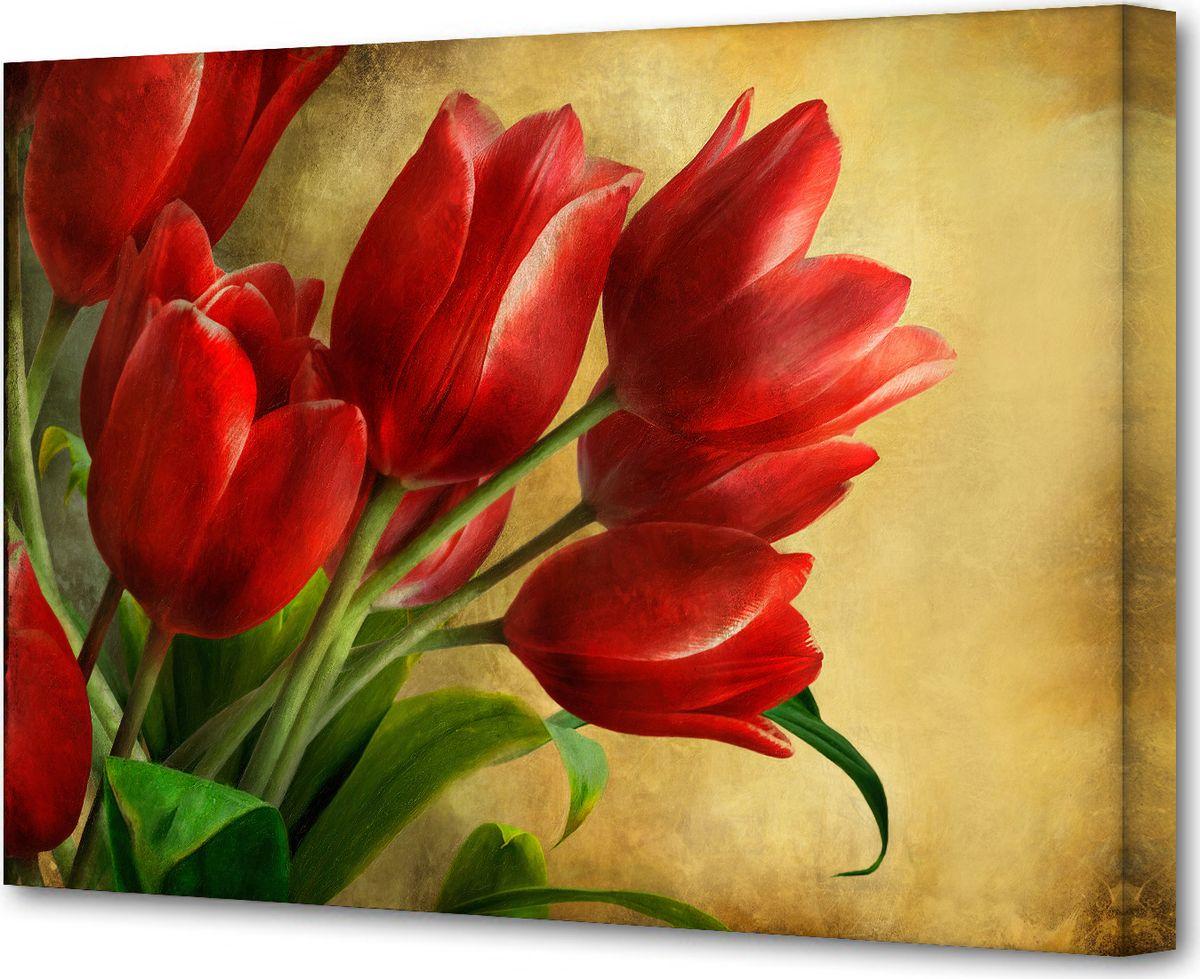 Картина на холсте - это яркий и эффективный предмет украшения интерьера. Это достигается  благодаря трем факторам:  - фактурной поверхности, синтетического полотна, подобранного по аналогии с натуральным  холстом;  - технологии высококачественной печати изображения, превращающей картинку с экрана  монитора, в профессиональную имитацию работы художника и мазков краски;  - красивые прорисованные картинки или эстетические фотографии.  В итоге вы получаете, готовую работу, которая не уступает по силе эмоций живописным картинам.