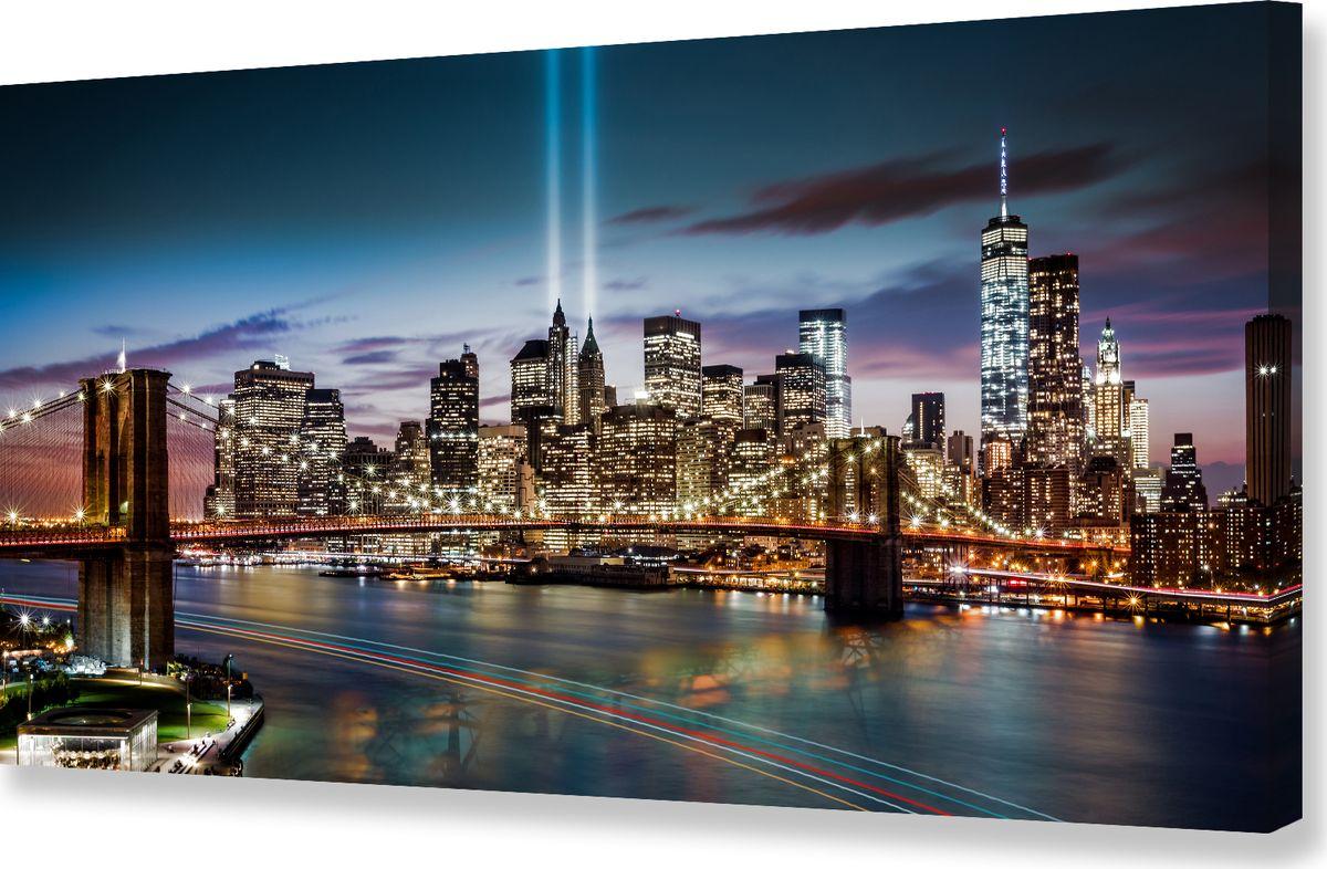 Картина холст Milarte, 50 х 100 см. P-015xP-015xКартина на холсте – это яркий и эффективный предмет украшения интерьера. Это достигается благодаря трем факторам. 1) Фактурной поверхности, синтетического полотна, подобранного по аналогии с натуральным холстом. 2) Технологии высококачественной печати изображения, превращающей картинку с экрана монитора, в профессиональную имитацию работы художника и мазков краски. 3) Красивые прорисованные картинки или эстетические фотографии. В итоге Вы получайте, готовую работу, которая не уступает по силе эмоций живописным картинам.