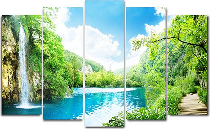 Картина модульная Milarte, 125 х 80 см. X-206HX-206HМодульная картина Milarte - это прекрасное решение для декора помещения. Картина состоит из пяти модулей. Холст натянут на подрамник галерейной натяжкой и закреплен с обратной стороны. Цифровая печать. Изделие устойчиво к выцветанию. Толщина подрамника 2 см, он исключает провисание полотна. Рекомендованное расстояние между сегментами составляет 1,5-2 см.Размер изображения: 80 х 125 см. Размер модулей: 63 х 25 см, 71 х 25 см, 80 х 25 см, 71 х 25 см, 63 х 25 см. Крепление в комплекте. Уход: можно протирать сухой мягкой тканью.