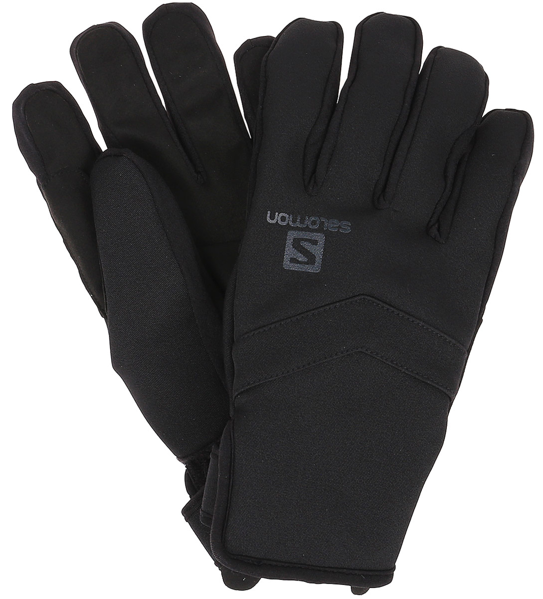 Перчатки мужские Salomon Gloves Rs Warm Glove M, цвет: черный. L39505000. Размер L (9)L39505000В перчатках Gloves Rs Warm Glove утеплитель Thinsulate склеен с наружным слоем, поэтому он не будет скатываться и успешно защитит вас от холода. Благодаря эластичному материалу на тыльной стороне ладони и небольшой застежке-липучке эта модель отлично подходит к лыжным палкам.