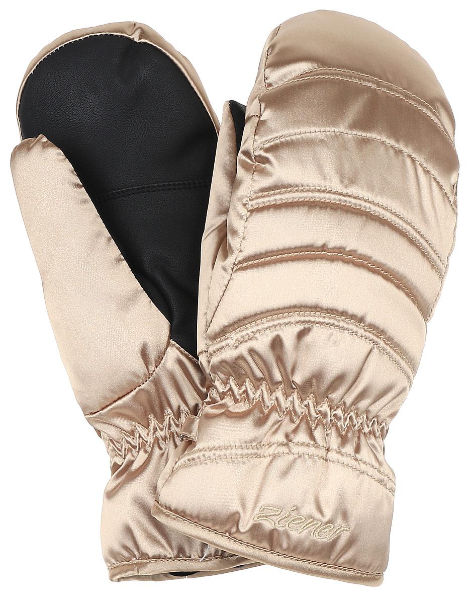 Варежки женские Ziener Kamirana Mitten Sm Lady Glove, цвет: золотой. 170021-136. Размер 7170021-136Варежки Ziener Kamirana Mitten Sm Lady Glove, изготовленные из высококачественного полиэстера, станут идеальным вариантом для холодной зимней погоды. На запястьях варежки собраны на эластичные резинки, что обеспечивает комфортную и надежную посадку.