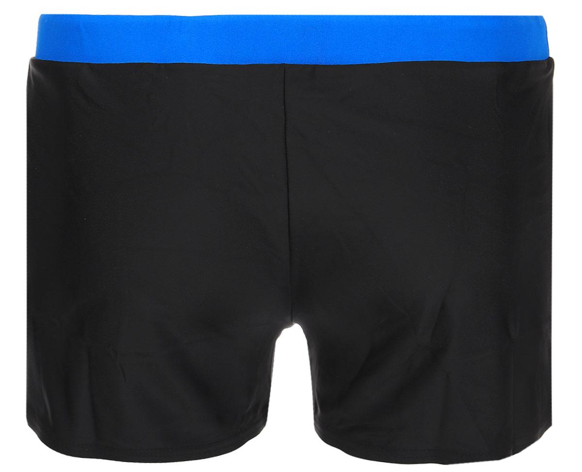 Плавки-шорты мужские Speedo Valmilton Aquashort, цвет: черный, голубой. 8-056585172-5172. Размер 34 (44/46)