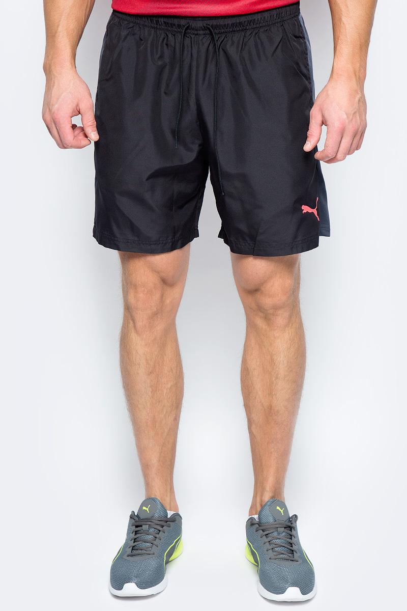 Шорты мужские Puma evoTRG Woven Shorts, цвет: черный. 65534606. Размер S (44/46)
