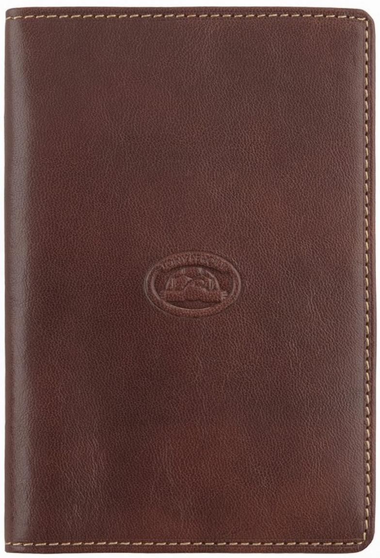 Обложка для паспорта Tony Perotti, цвет: коричневый. 273435/2273435/2Автономная секция для паспорта, пять кармашков для визиток