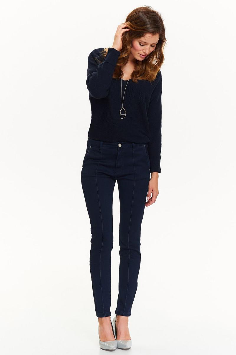 купить Джинсы женские Top Secret, цвет: темно-синий. SSP2640GR. Размер 40 (48) по цене 1889.5 рублей