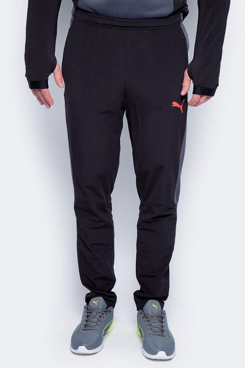 Брюки спортивные мужские Puma evoTRG Winter Pant, цвет: черный. 65542006. Размер XXL (52/54) шорты спортивные puma puma pu053emiye01